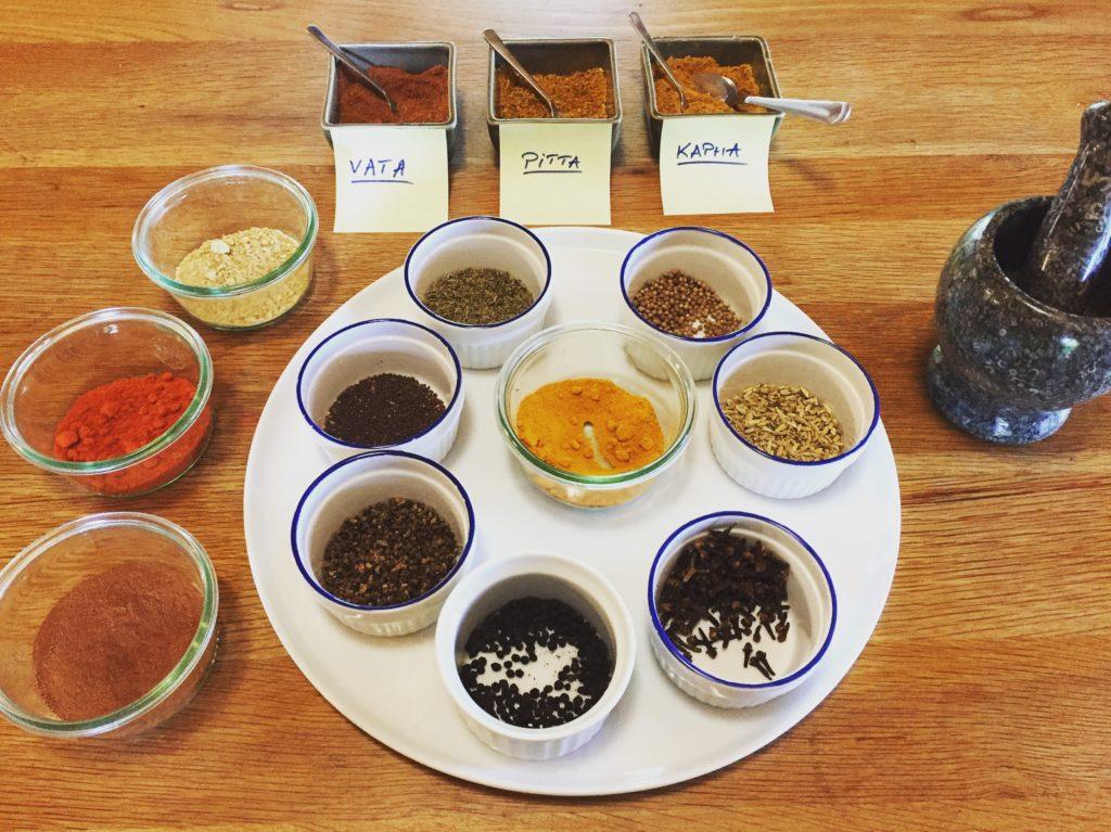 massala ayurveda médecine ayurvédique nutrition doshas