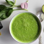 soupe crue epinards raw rawfood vegan soup vitamines cru